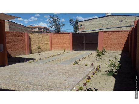 Casa De 1 Planta Inmediaciones Blanco Galindo Km6
