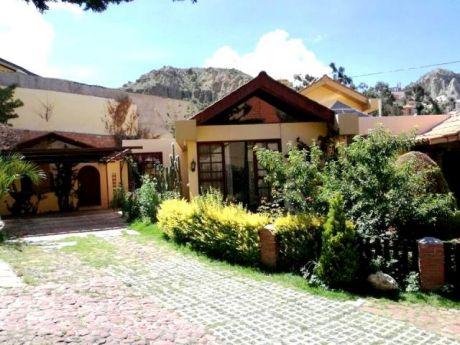 Casa En Venta - Achumani