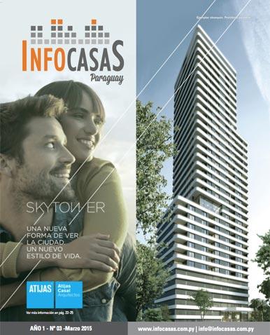 Revista Infocasas Paraguay, Número 03, Marzo 2015