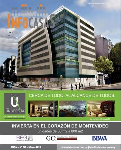 Revista InfoCasas, Número 48, Marzo 2015