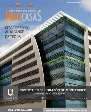 Revista Infocasas, Número 47, Febrero 2015