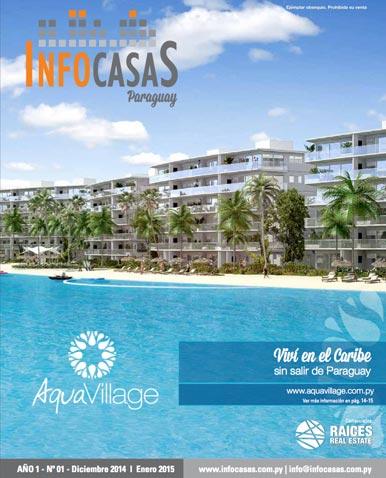 Revista Infocasas Paraguay, Número 01, Diciembre 2014 / Enero 2015