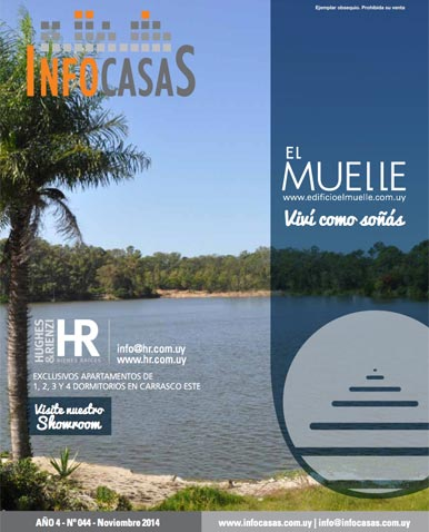 Revista Infocasas, Número 44, Noviembre 2014