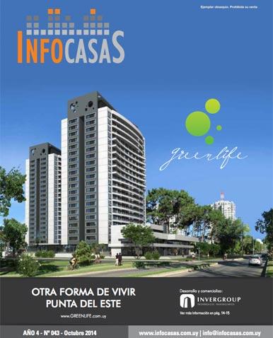 Revista Infocasas, Número 43, Octubre 2014