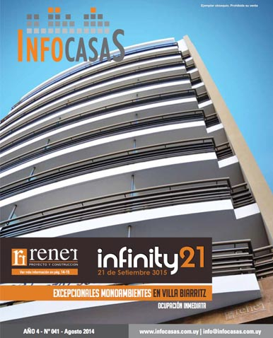Revista Infocasas, Número 41, Agosto 2014