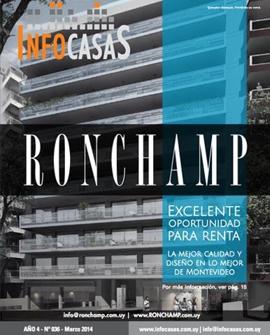 Revista Infocasas, Número 36, Marzo 2014