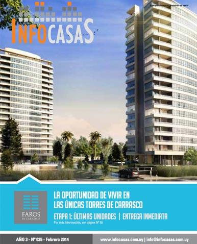 Revista Infocasas, Número 35, Febrero 2014