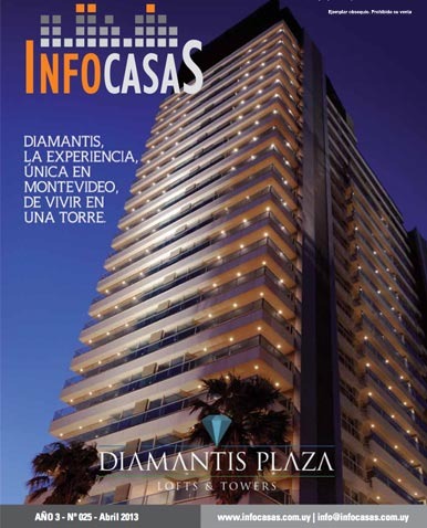 Revista Infocasas, Número 25, Abril 2013