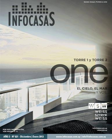 Revista Infocasas, Número 21, Diciembre 2012 / Enero 2013