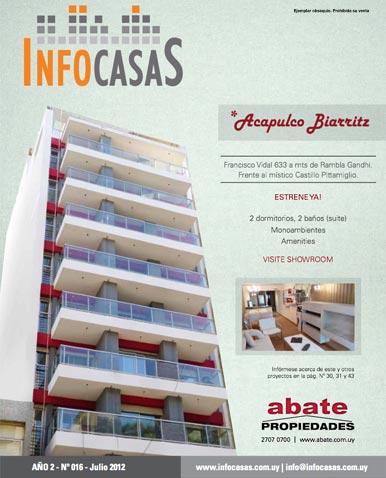 Revista Infocasas, Número 16, Julio 2012