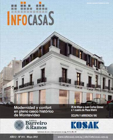 Revista Infocasas, Número 14, Mayo 2012