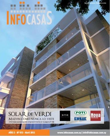 Revista Infocasas, Número 13, Abril 2012
