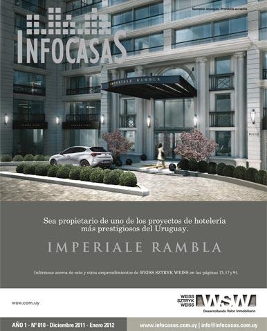 Revista Infocasas, Número 10, Diciembre 2011 / Enero 2012