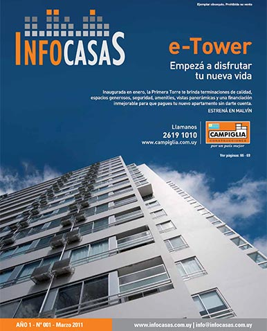 Revista Infocasas, Número 1, Marzo 2011