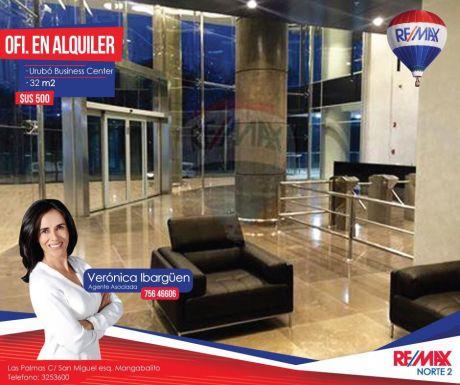 En Alquiler Oficina En El Ubc UrubÓ Business Center