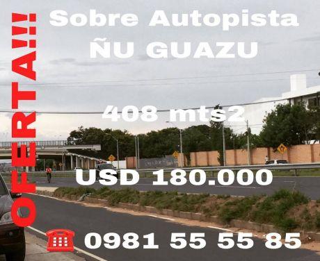 Propiedad Sobre Autopista Ñu Guazu, UbicaciÓn Privilegiada!!