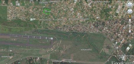 Vendo Terreno 1,3 Has Zona Aeropuerto  Us 45 X M2