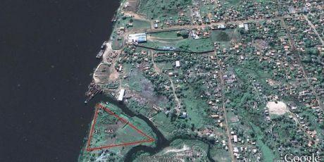 Terreno 3,7 Has S/ Rio Py - Pto Botanico