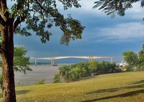 Terreno 5 Has S/ Rio Py  Vista Al Puente Remanso