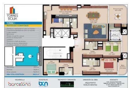 Vendo Hermoso Penthouse En Torres Bolik - Sobre Costanera De Encarnación