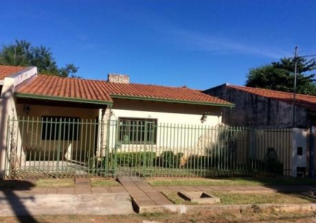 Vendo Y Financio Hermosa Casa En Lambare Zona Cacique