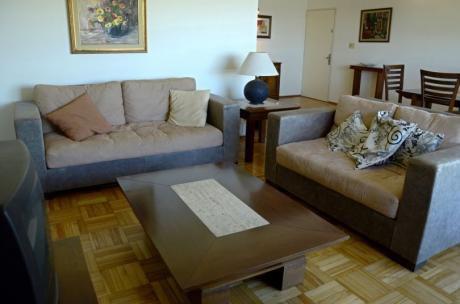 Amplio Apartamento 3 Dormitorios Sobre Rambla Buceo