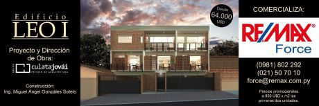 Preventa Edificio Leo I Dptos De 1 Y 2 Dormitorios , Precios Promocionales