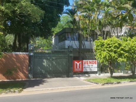 Terreno En Zona Mas Residencial De B° Mcal. Estigarribia. - 1.096 M2 (334)