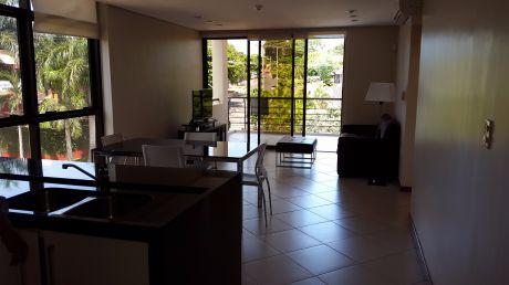 Alquiler Depto Amoblado, Barrio El Mangal, Zona Molas Lopez, 2 Dorm. Cod: Ad090