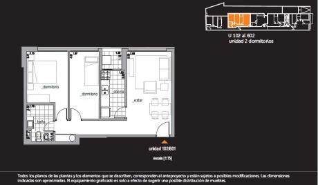 Excelentes Unidades 2 Dormitorios En Cordón