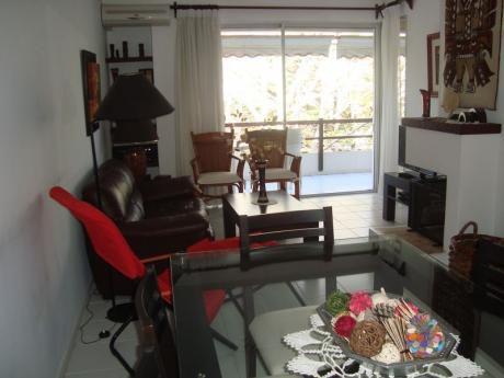 Muy Lindo Apartamento Con Estufa A Leña Y Parrillero Propio - 2 Dorm.