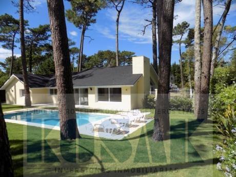 Kosak Punta Deleste Mansa  Pdas Impecable Casa 4dorm Piscina Prox Colegios Mar