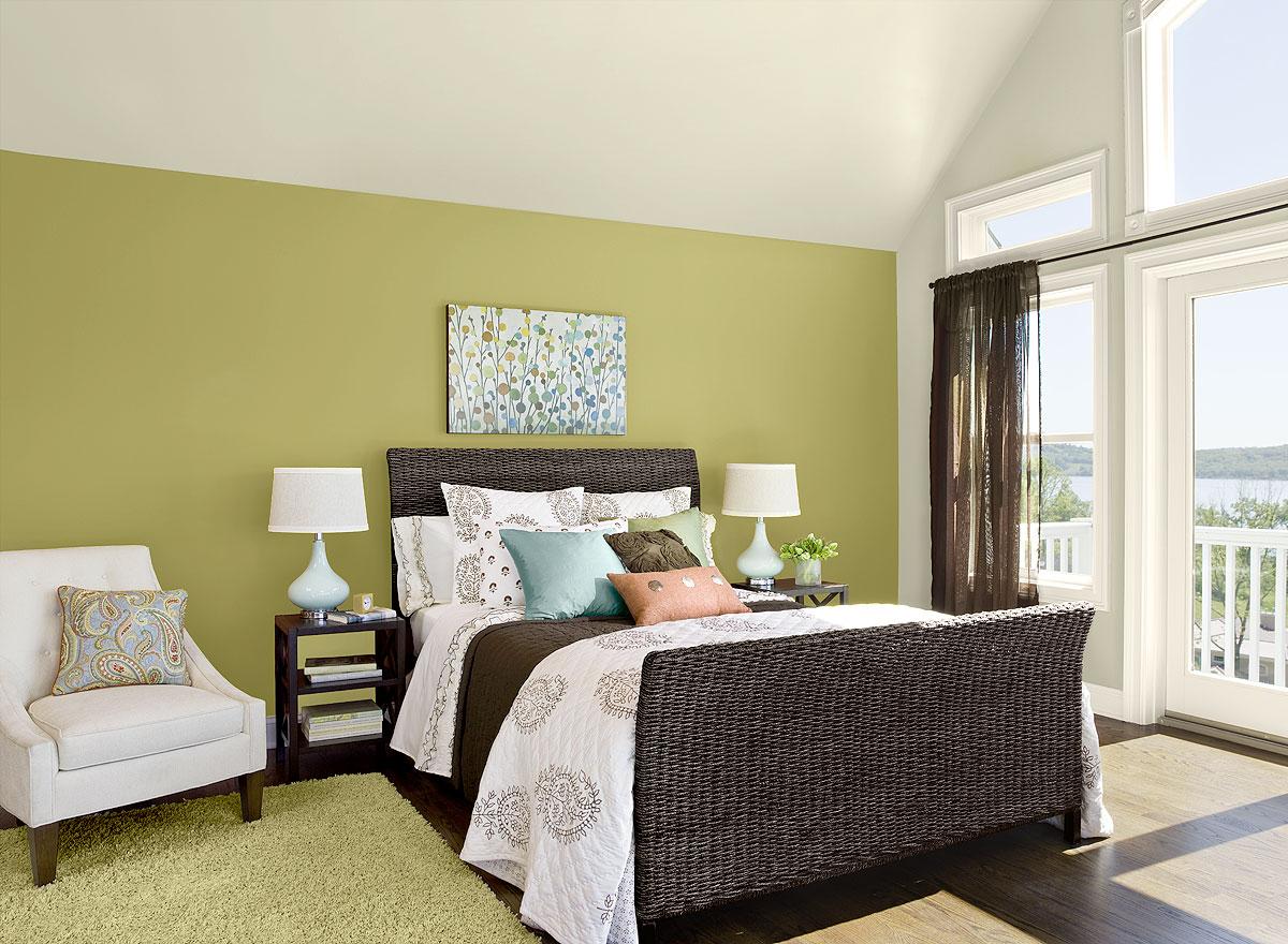 Qu colores elegir a la hora de pintar el dormitorio - Elegir pintura para interiores ...