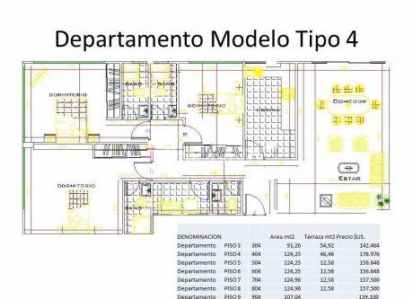 Departamento En Venta En Achumani La Paz $us 143,000