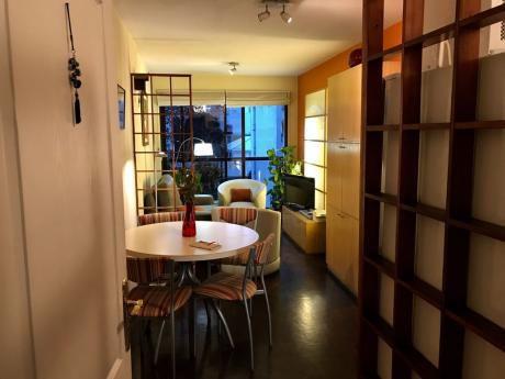 Cálido Y Moderno Apartamento Amueblado A Pasos De La Playa