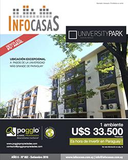 Revista Infocasas, Número 62, Setiembre 2016