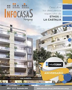 Revista InfoCasas, Número 21, Septiembre 2016