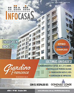 Revista Infocasas, Número 63, Octubre 2016