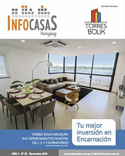 Revista InfoCasas Paraguay, Número 23, Noviembre 2016