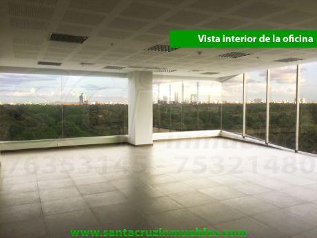 Hermosa Oficina En Alquiler En El Ubc, Con La Mejor Vista De La Ciudad