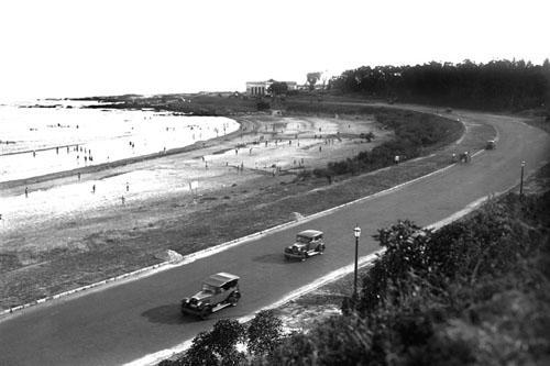 Playa de Buceo en 1919