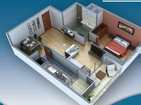 Apartamento En Construcción En Pocitos 1 Dormitorio