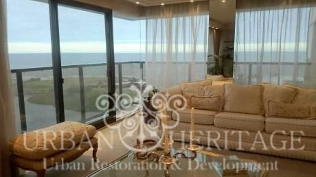 Pocitos Luxury 2 Story 5bdrm Penthouse Waterfront Views