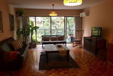 Venta Apartamento Pocitos Mts Rambla 3 Dormitorios, Servicio Y Garage