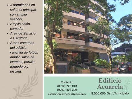 Lujoso Departamento De 3 Dormitorios En Suite Zona Colegio Inter