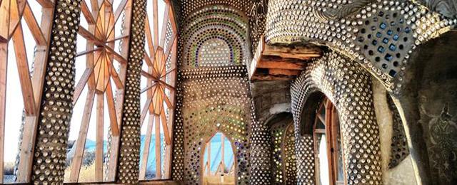Increíbles construcciones con materiales reciclados