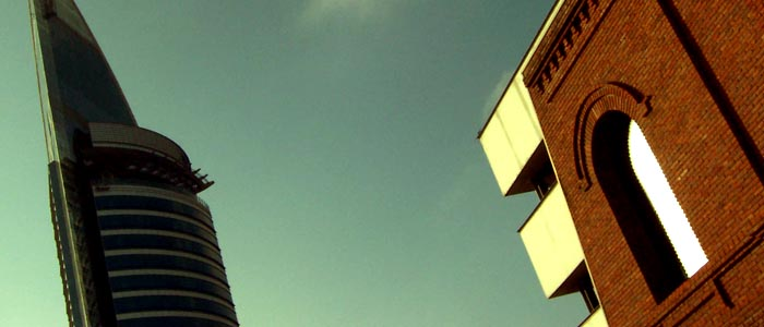 El pasado y el futuro de la arquitectura conviviendo en La Aguada