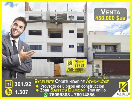 Edificio En Venta Sobre Avenida Zona Santos Dumont