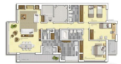 Apartamento Sobre Rambla De Malvin
