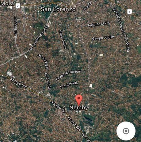 Vendo Propiedad De 16.000 Mts2 En Acceso Sur, Sobre Ruta Ñemby-san Lorenzo.